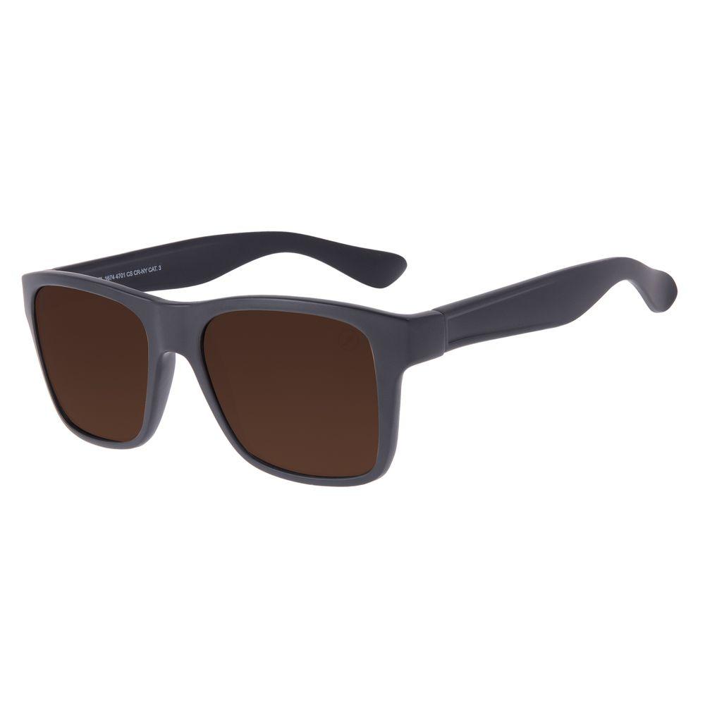 Óculos de Sol Unissex Chilli Beans Bossa Nova Basic Marrom Escuro OC.CL.1674-4701