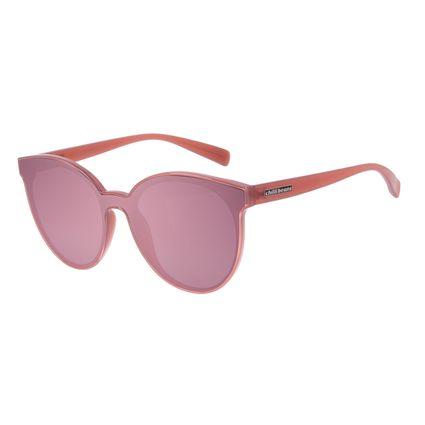 Óculos de Sol Feminino Chilli Beans Trend Redondo Bege OC.CL.3070-2023