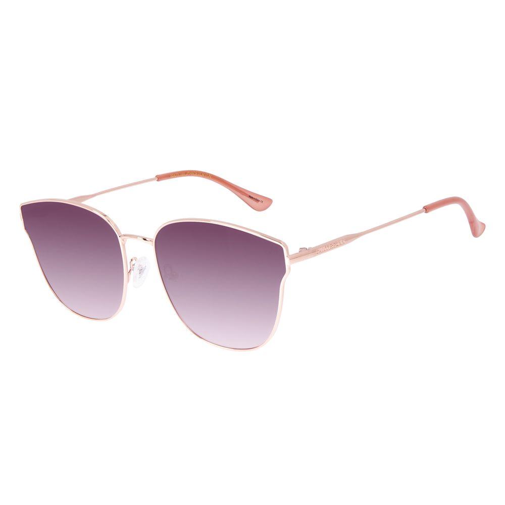 Óculos de Sol Feminino Chilli Beans Banhado a Ouro Gatinho Rosé OC.MT.2918-2095