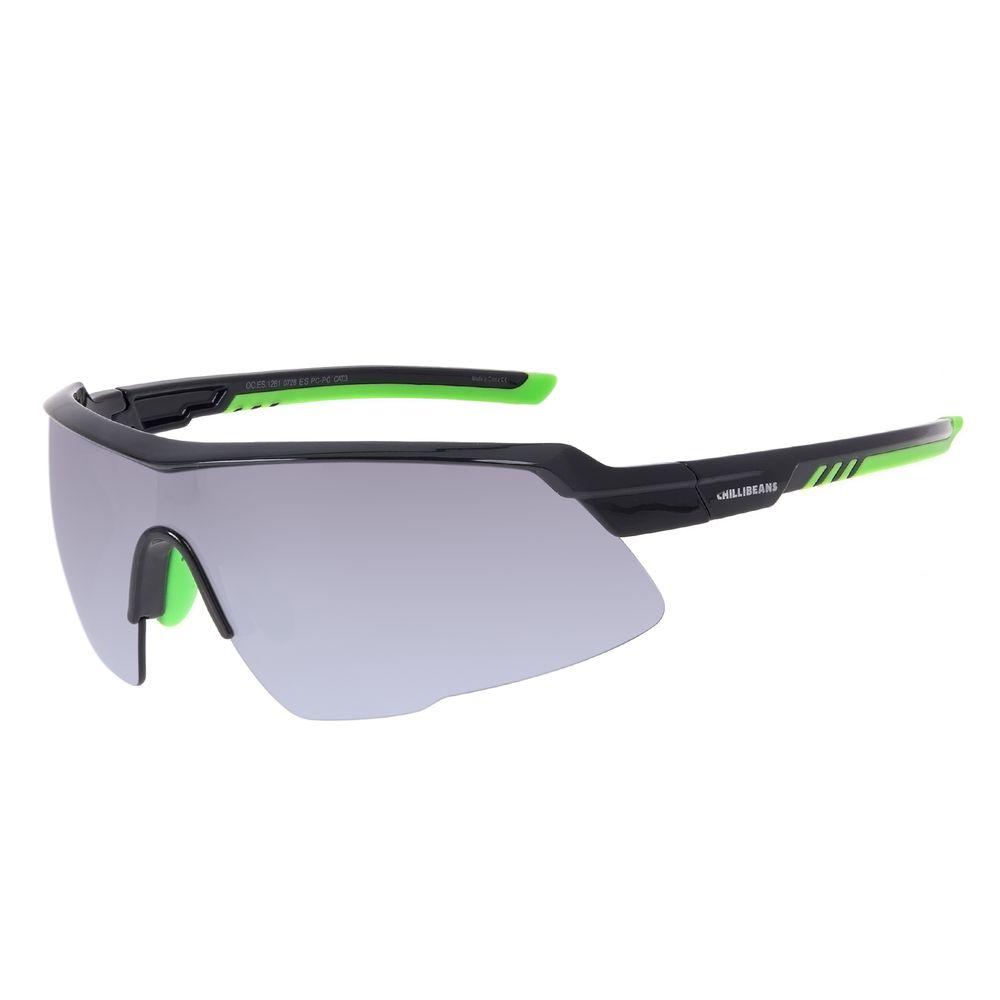 Óculos de Sol Masculino Chilli Beans Flutuante Cinza Escuro OC.ES.1261-0728