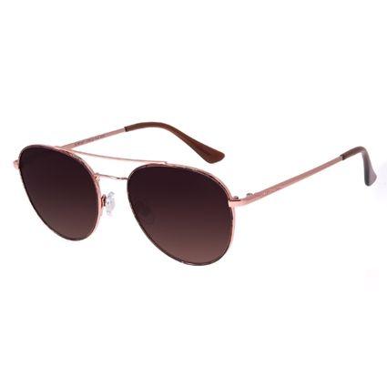 Óculos de Sol Feminino Chilli Beans Aviador Rosé OC.MT.2977-5795