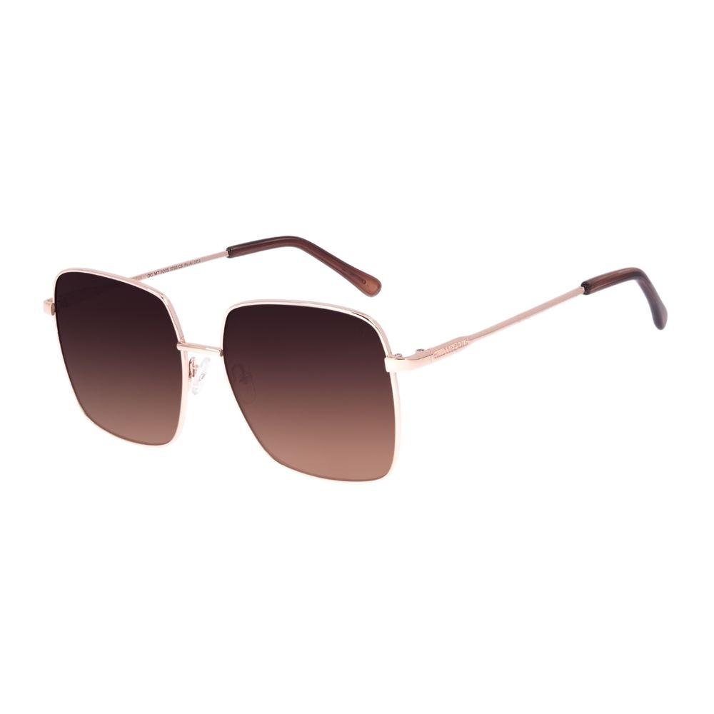 Óculos de Sol Feminino Chilli Beans Quadrado Rosé OC.MT.3005-5795