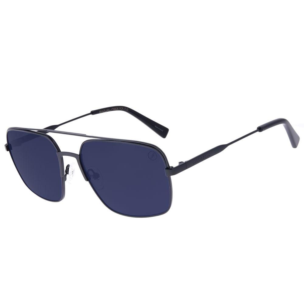 Óculos de Sol Masculino Chilli Beans Executivo Fume OC.MT.3060-0501