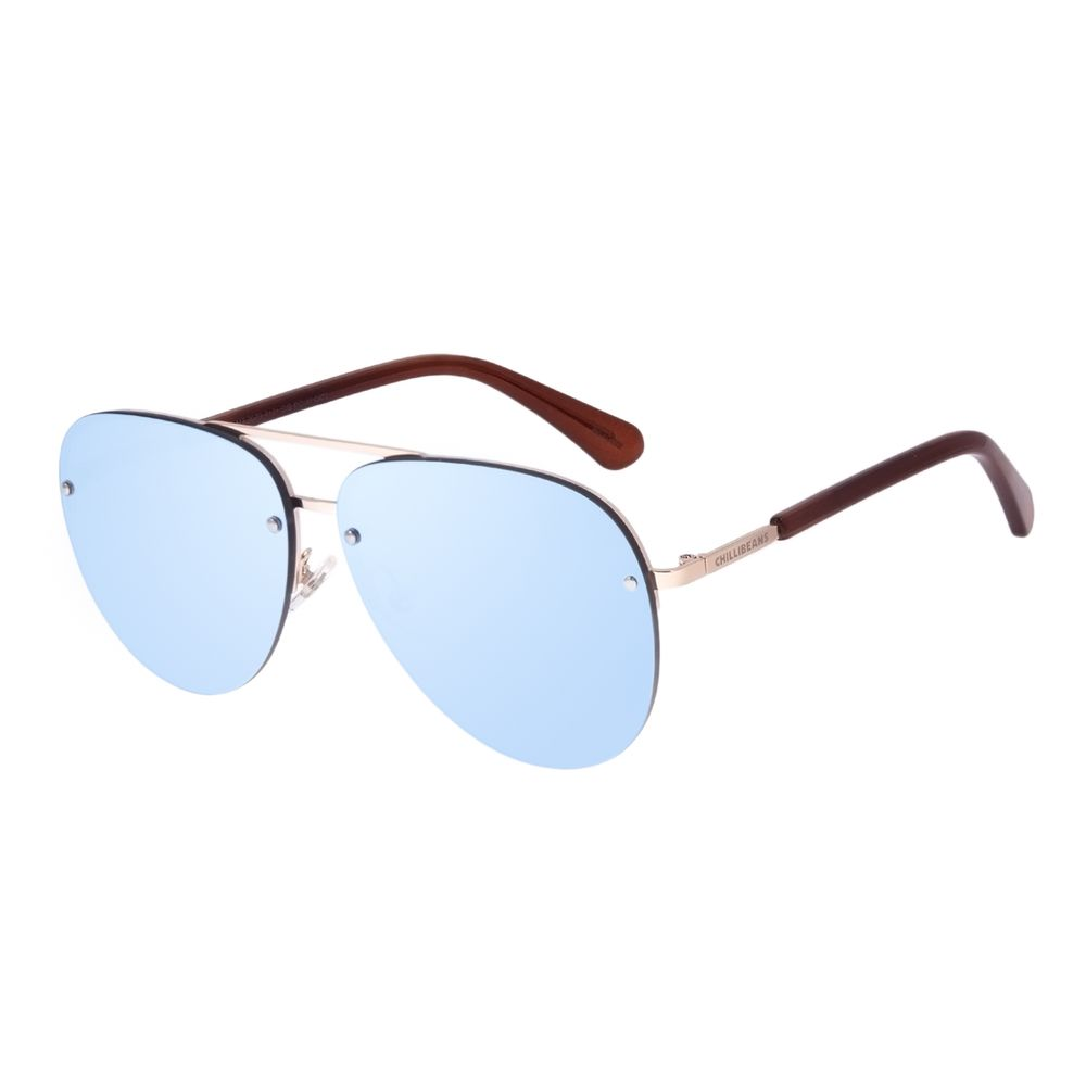 Óculos de Sol Unissex Chilli Beans Aviador Espelhado OC.MT.3073-9121