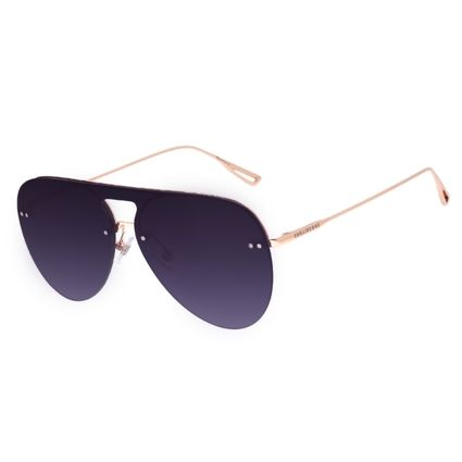 Óculos de Sol Unissex Chilli Beans Aviador Dourado OC.MT.3074-2021
