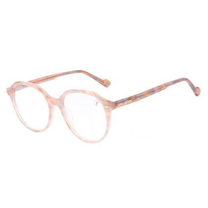 Armação Para Óculos de Grau Feminina Chilli Beans Cristal Brilho Tartaruga LV.AC.0707-0206