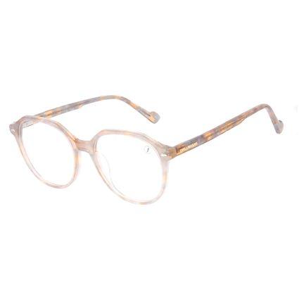 Armação Para Óculos de Grau Feminina Chilli Beans Cristal Brilho Marrom LV.AC.0707-4706
