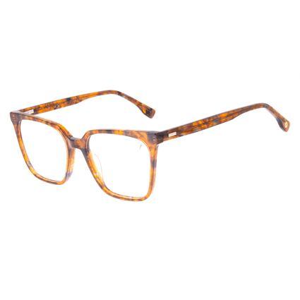 Armação Para Óculos de Grau Feminino Chilli Beans Quadrado Tartaruga Acetato LV.AC.0711-0606