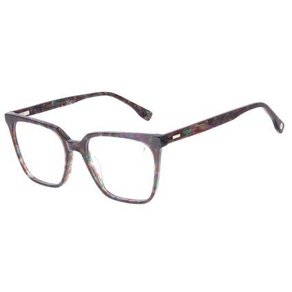 Armação Para Óculos de Grau Feminino Chilli Beans Quadrado Tartaruga Verde LV.AC.0711-1506