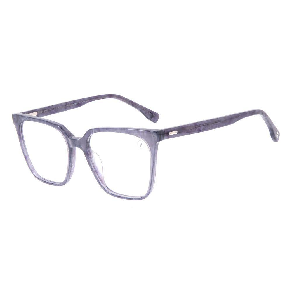 Armação Para Óculos de Grau Feminino Chilli Beans Quadrado Tartaruga Roxo LV.AC.0711-1406