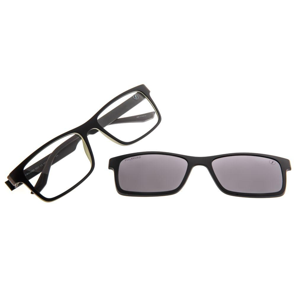 Armação Para Óculos de Grau Masculino Chilli Beans Bossa Nova Polarizado Fosco LV.MU.0454-0531