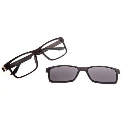 Armação Para Óculos de Grau Masculino Chilli Beans Bossa Nova Polarizado Fumê LV.MU.0454-0501