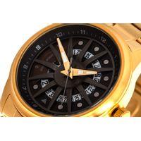 Relógio Analógico Masculino Chilli Beans Roleta Metal Dourado RE.MT.1030-2121.5