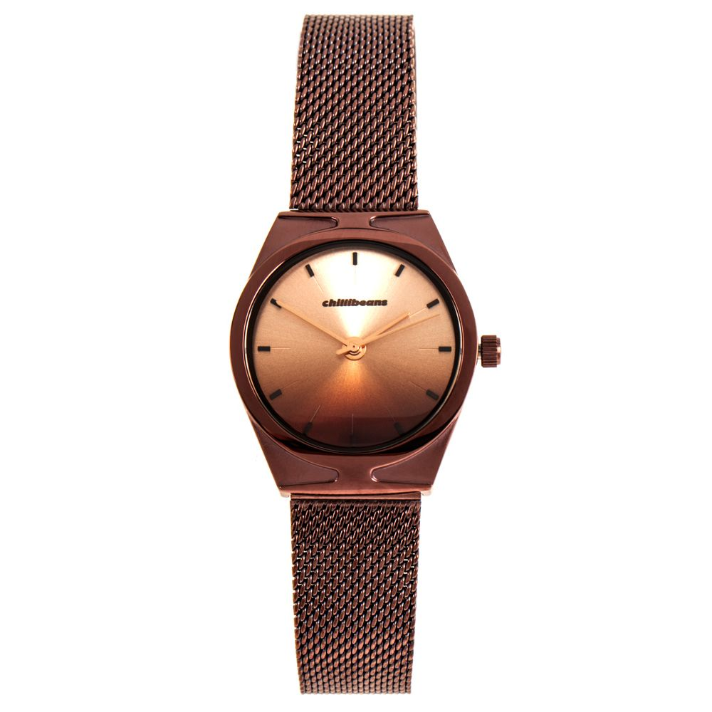 Relógio Analógico Feminino Chilli Beans Gradient Metal Marrom RE.MT.1069-9502