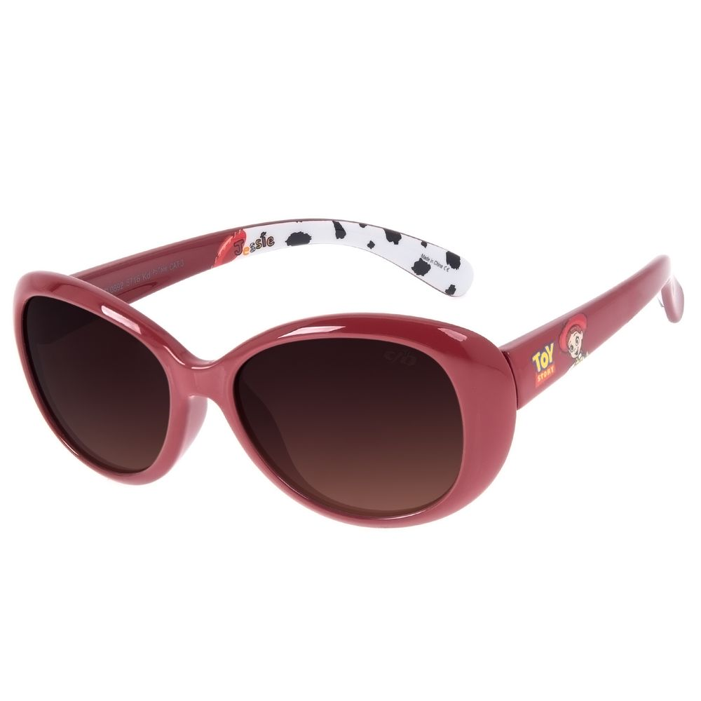 Óculos de Sol Infantil Toy Story Jessie Quadrado Vermelho OC.KD.0692-5716