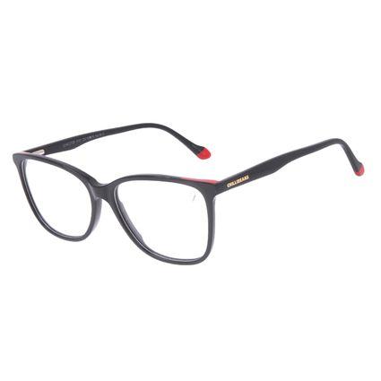 Armação Para Óculos de Grau Feminino Chilli Beans Quadrado Preto LV.AC.0705-0101