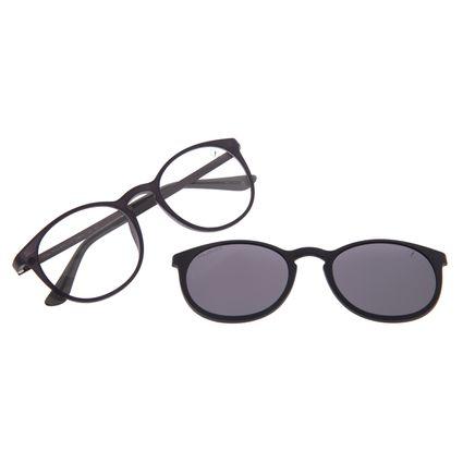 Armação Para Óculos de Grau Masculino Chilli Beans Multi Polarizado Preto LV.MU.0453-0501
