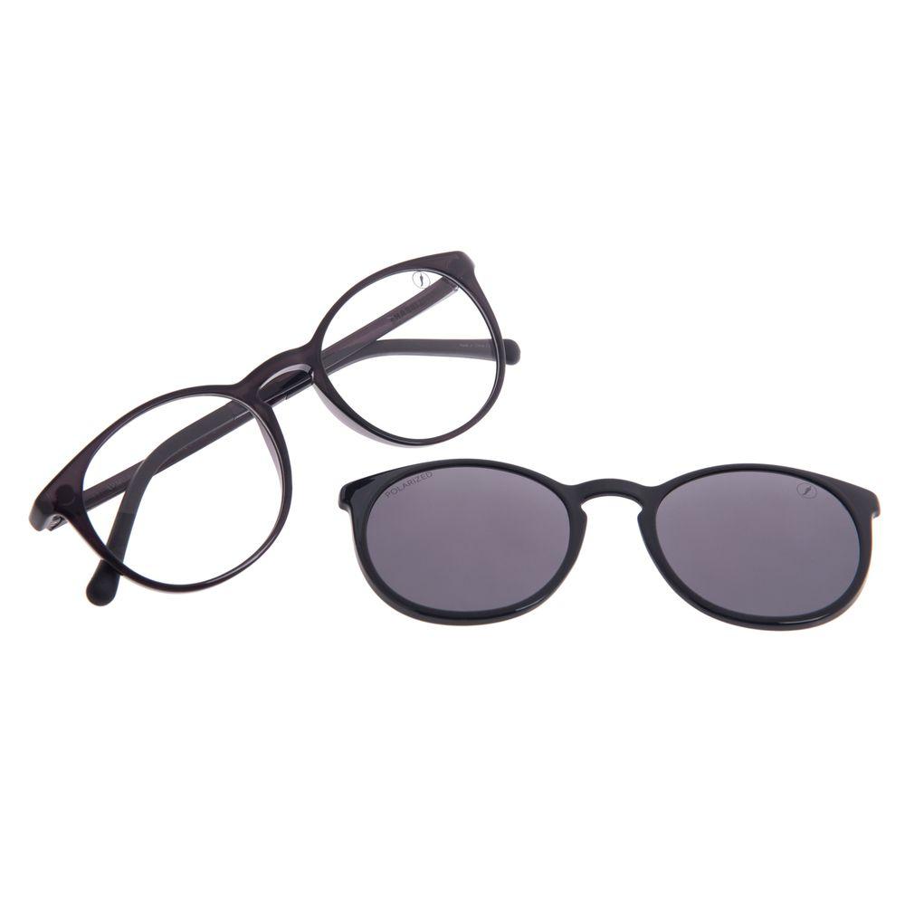 Armação Para Óculos de Grau Feminino Chilli Beans Multi Polarizado Fume LV.MU.0220-0530