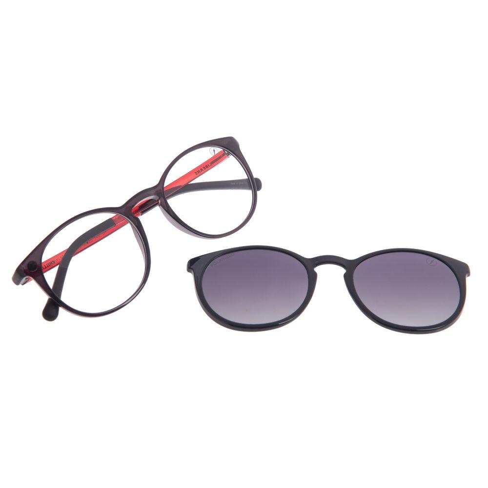 Armação Para Óculos de Grau Feminino Chilli Beans Multi Polarizado Brilho LV.MU.0220-2030