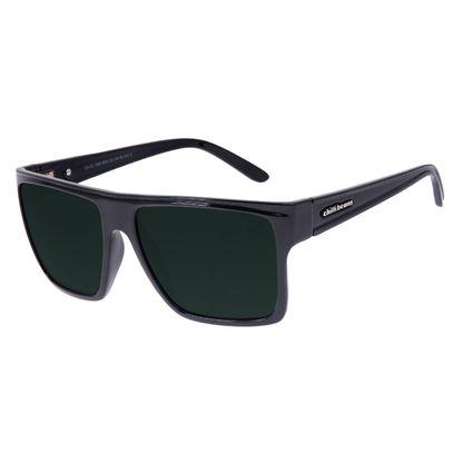 Óculos de Sol Unissex Chilli Beans Essential Quadrado Verde Escuro    OC.CL.1058-2630