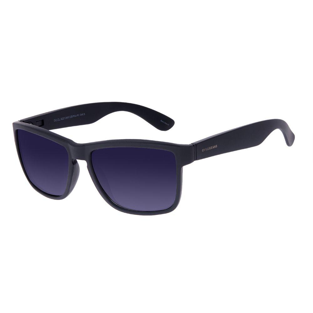 Óculos de Sol Masculino Chilli Beans Bossa Nova 2 Em 1 Degradê Polarizado OC.CL.3221-2001