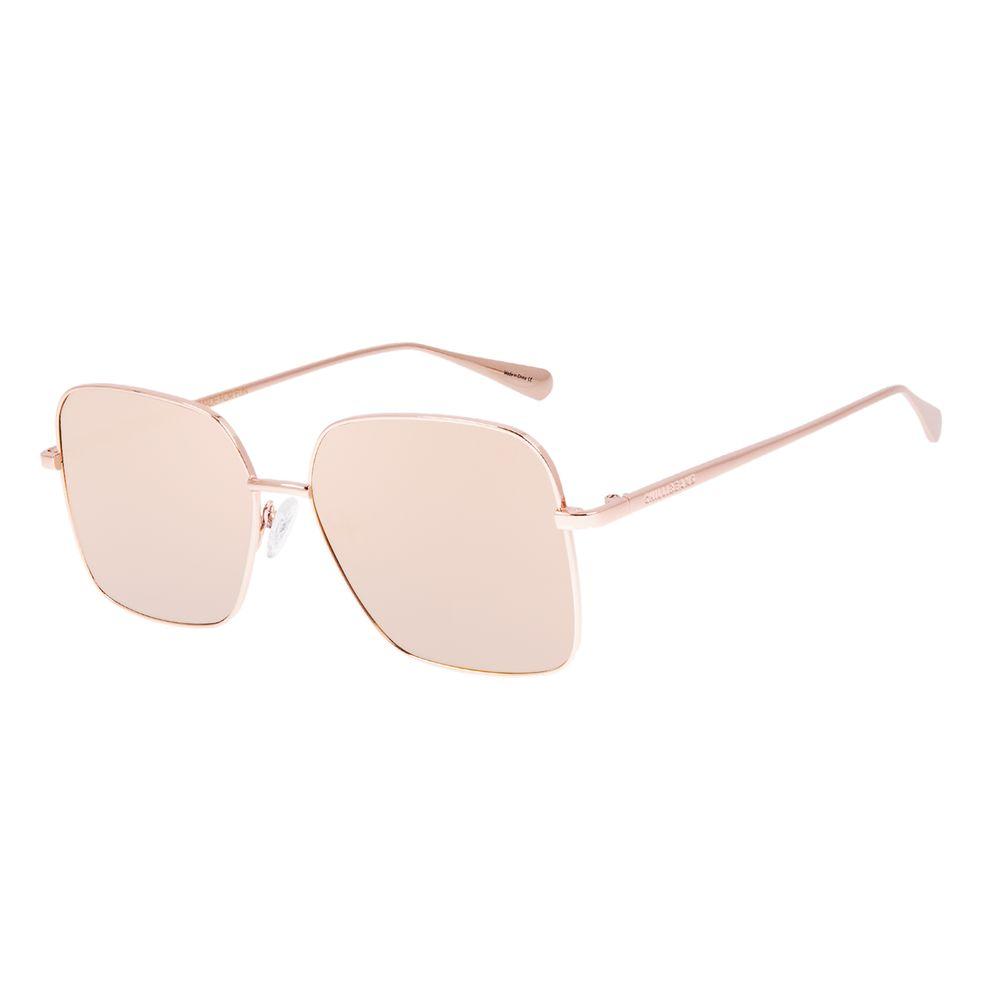 Óculos de Sol Feminino Chilli Beans Quadrado Rosé OC.MT.3067-0595