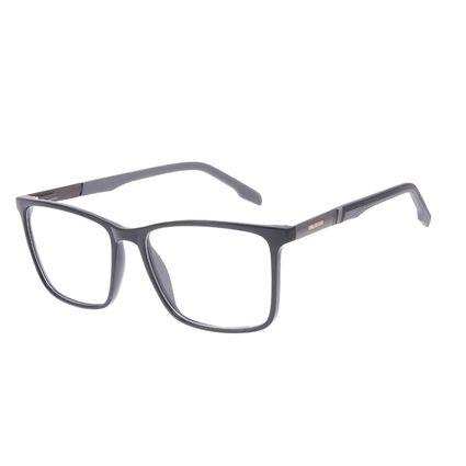 Armação Para Óculos de Grau Masculino Chilli Beans Quadrado Cinza LV.IJ.0234-0104