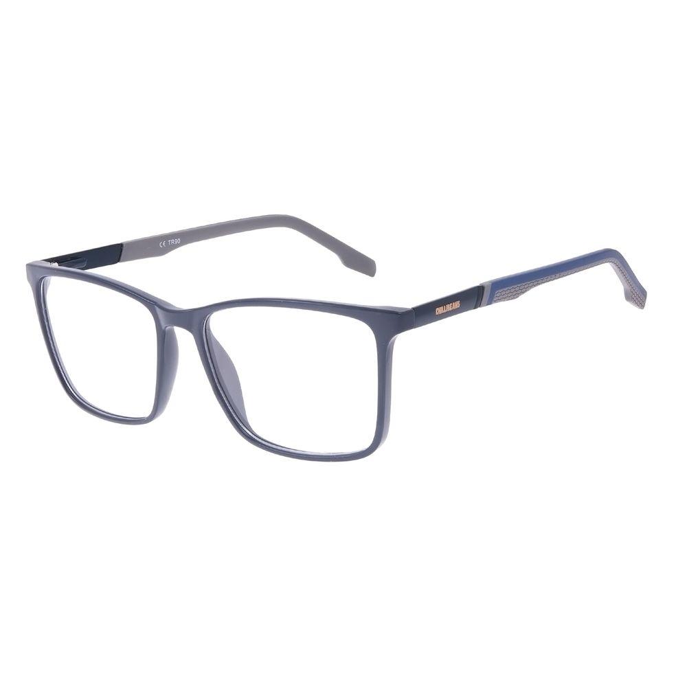 Armação Para Óculos de Grau Masculino Chilli Beans Quadrado Azul LV.IJ.0234-0808