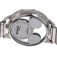 Relógio Analógico Feminino Disney Mickey Mouse Translúcido Prata RE.MT.1174-0707.6