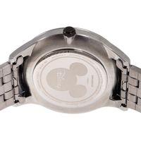 Relógio Analógico Masculino Disney Mickey Mouse Mãozinha Metal Prata RE.MT.1189-2207.6