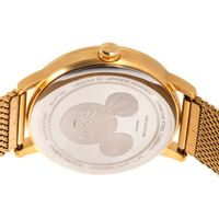Relógio Analógico Masculino Disney Mickey Mouse 1928 Multi Funções Dourado RE.MT.1196-2221.6