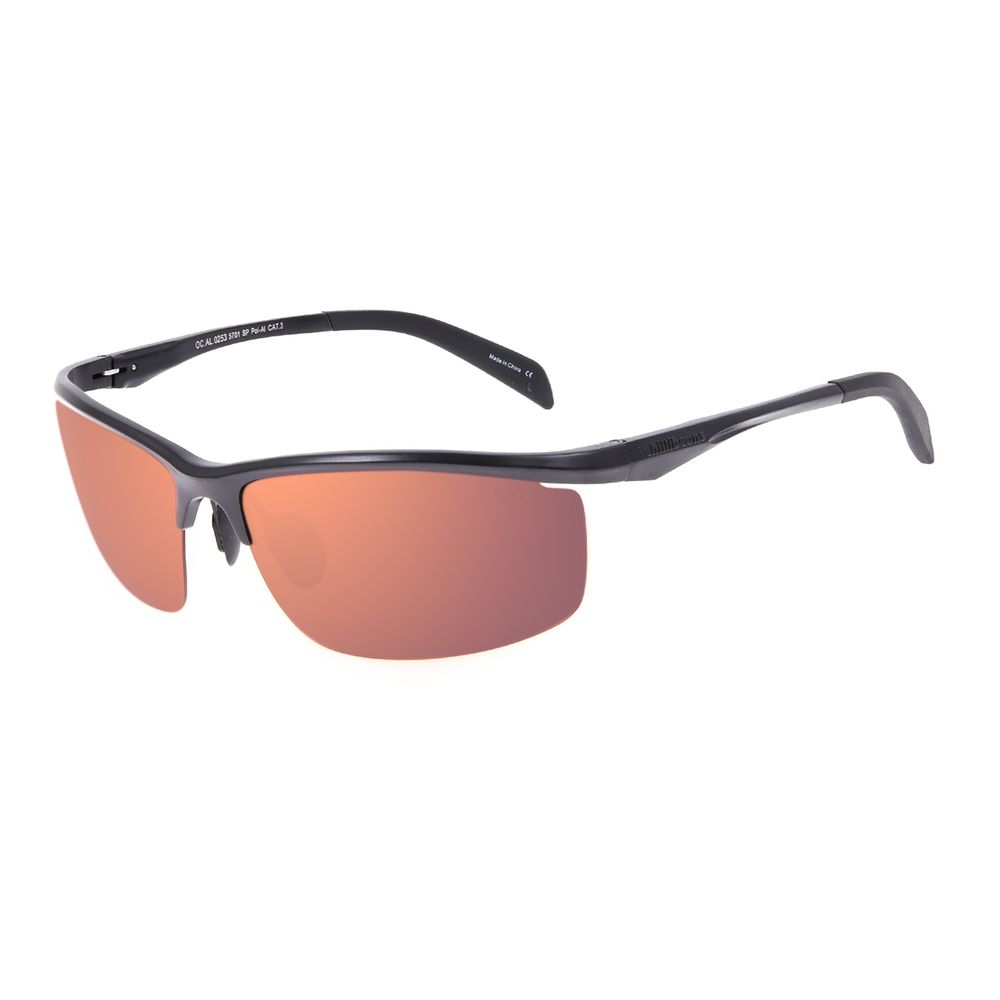 Óculos de Sol Masculino Chilli Beans Esportivo Flutuante Degradê Marrom OC.AL.0253-5701