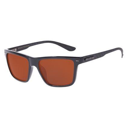 Óculos de Sol Masculino Chilli Beans Bossa Nova Polarizado Fosco Marrom OC.CL.3229-0201