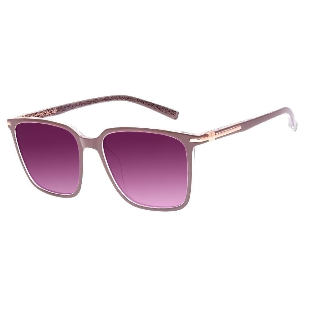 Óculos de Sol Feminino Disney Minnie Mouse Maxi Quadrado Rosé OC.CL.3296-2095