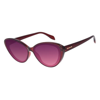 Óculos de Sol Feminino Disney Minnie Mouse Gatinho Rosé OC.CL.3310-9501