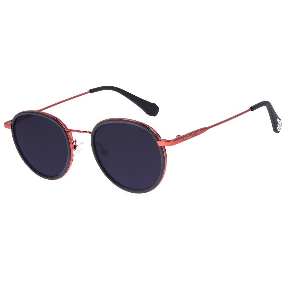 Óculos de Sol Unissex Disney Mickey Mouse Redondo Vermelho OC.CL.3312-0116