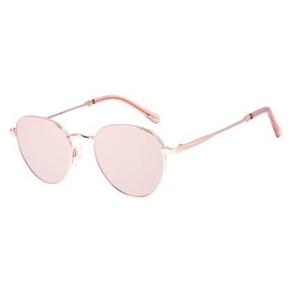 Óculos de Sol Unissex Disney Mickey Mouse Redondo Rosé OC.MT.3114-2395