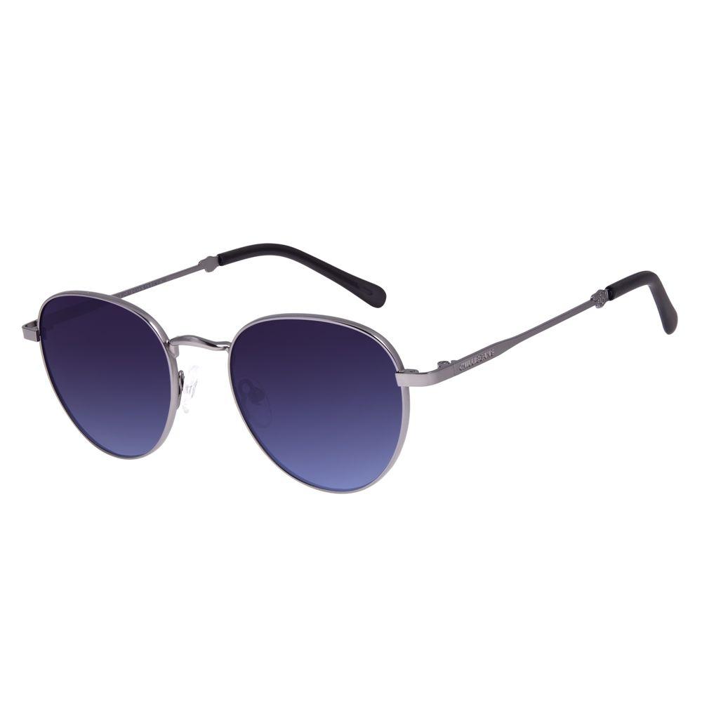 Óculos de Sol Unissex Disney Mickey Mouse Redondo Ônix OC.MT.3114-8322
