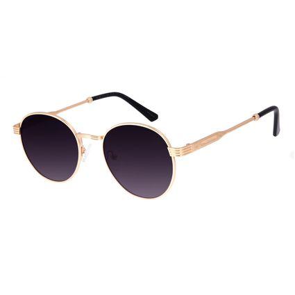 Óculos de Sol Unissex Beer Redondo Dourado OC.MT.3119-2021