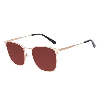 Óculos de Sol Masculino Chilli Beans Executivo Metal Brilho OC.MT.3066-0230