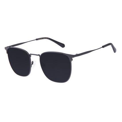 Óculos de Sol Masculino Chilli Beans Executivo Metal Fumê OC.MT.3066-0501