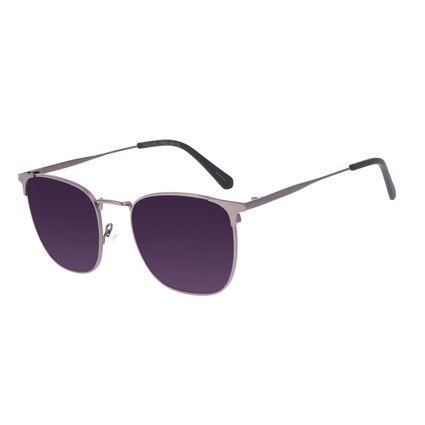 Óculos de Sol Masculino Chilli Beans Executivo Metal Ônix OC.MT.3066-2022