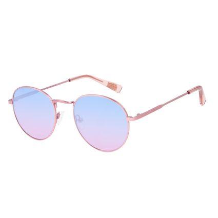 Óculos de Sol Unissex Chilli Beans True Colors Redondo Metal Rosé OC.MT.3104-8395