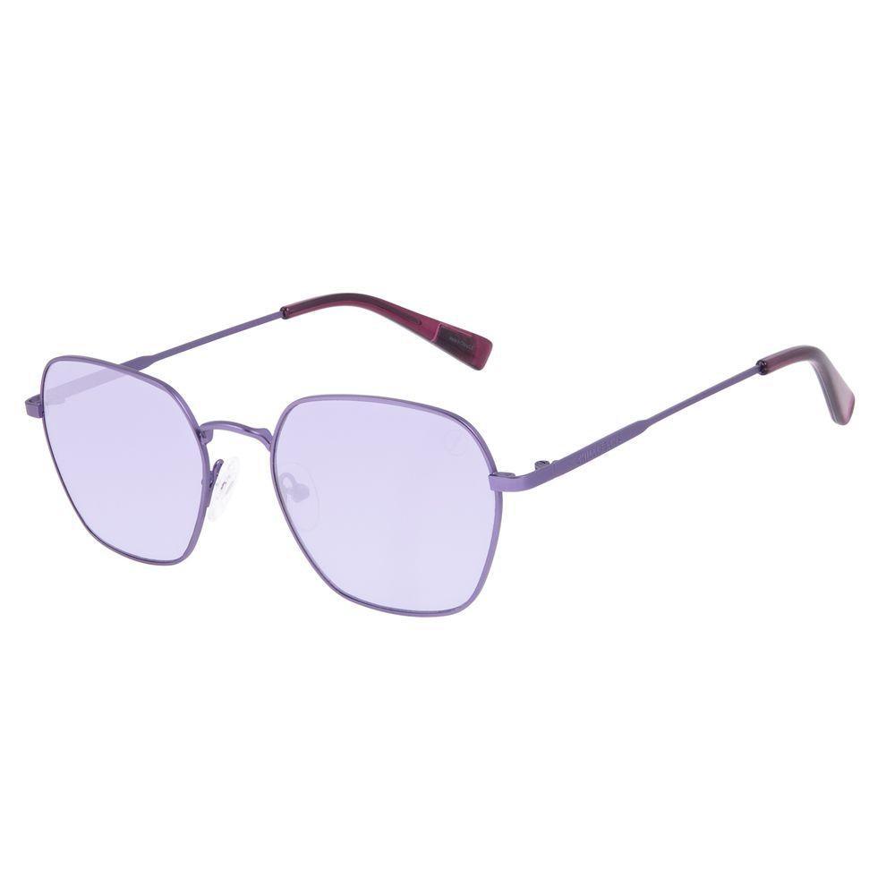 Óculos de Sol Unissex Chilli Beans True Colors Octagonal Metal Roxo OC.MT.3105-1414