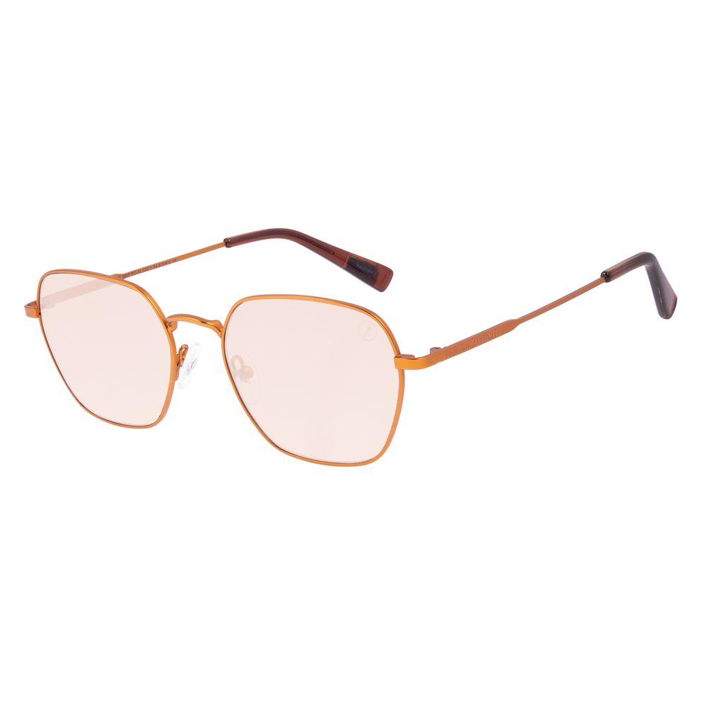 Óculos de Sol Unissex Chilli Beans True Colors Octagonal Metal Dourado OC.MT.3105-0911
