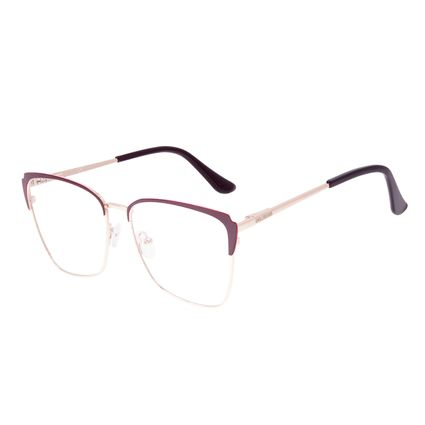 Armação Para Óculos de Grau Feminino Chilli Beans Cat Vinho LV.MT.0564-1721