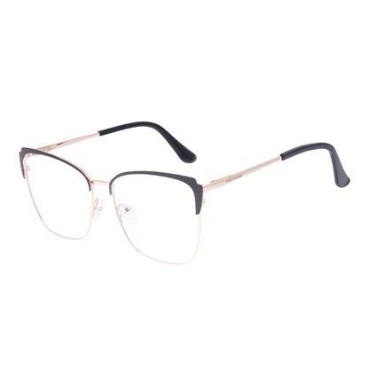 Armação Para Óculos de Grau Feminino Chilli Beans Cat Preto LV.MT.0564-0121