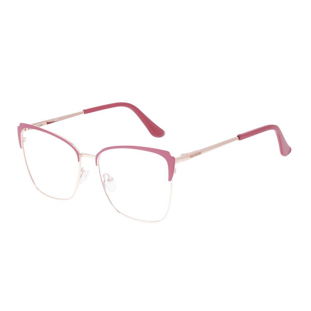 Armação Para Óculos de Grau Feminino Chilli Beans Cat Rosé LV.MT.0564-9521