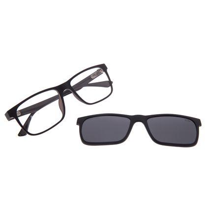 Armação Para Óculos de Grau Masculino Chilli Beans Multi Polarizado Preto LV.MU.0135-0101