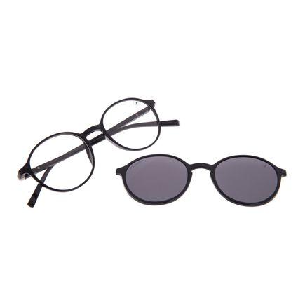 Armação Para Óculos de Grau Feminino Chilli Beans Multi Polarizado Preto LV.MU.0480-0501